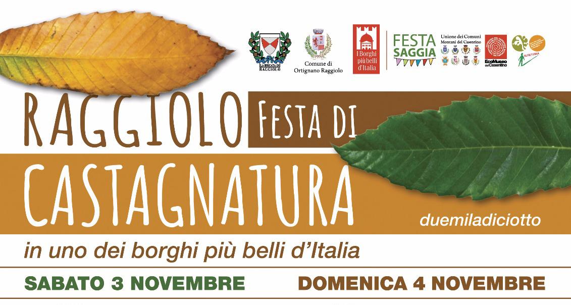 Festa di Castagnatura spostata causa maltempo al 3-4 novembre